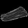 Coliere de plastic NEGRE, 250x3,5 (100 buc.) SEL.3.216
