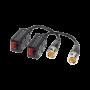 Video balun pasiv HD cu sistem de organizare VB-HD500