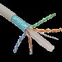 Cablu FTP, cat 6E, CUPRU 100%, manta LSZH 305m  - ELAN ELN-FTP-6e-CU