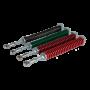 Arc rosu 38 mm pentru bariera - DITEC QIKM3