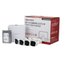 KIT 4 camere Bullet IP 2MP + NVR 4 canale, HDD 1TB - HIKVISION NK42N0H-1T(SG)